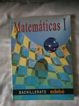 """Libro """"Matematicas I"""" Bachillerato edebe"""