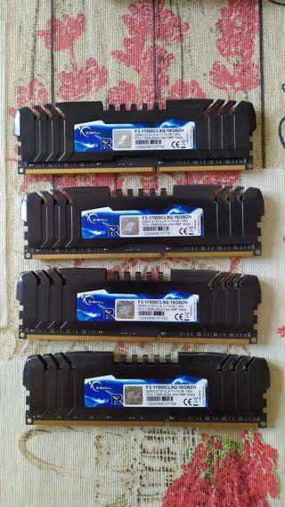Memoria RAM DDR3 2133mhz 16GB