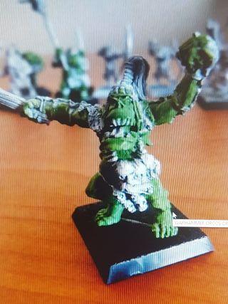 Warhammer orco salvaje jefe