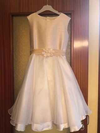 Vestido comunión corto o para ceremonia.