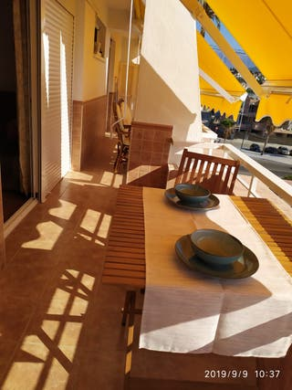 Apartamento en alquiler la caleta de velez