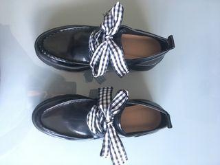 Zapatos plataforma Zara