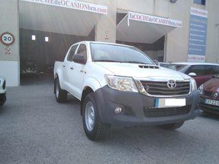 Toyota Hilux 2.5D4D 4X4 DOBLE CABINA