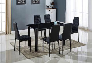 Mesa de comedor con 6 sillas