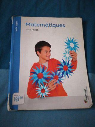 libro matemáticas y lengua castellana 1r eso