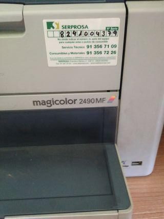 impresora laser color multifuncion