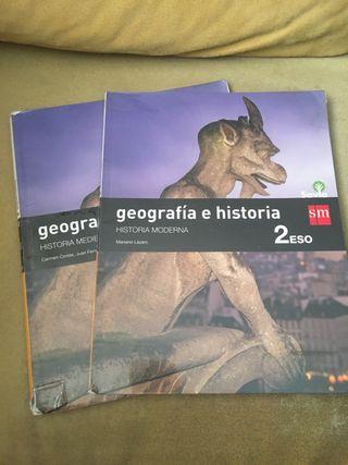 libro geografía e historia 2 de la eso