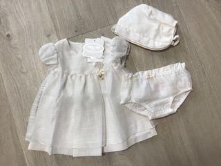 Conjunto vestido niña Mayoral talla 1-2