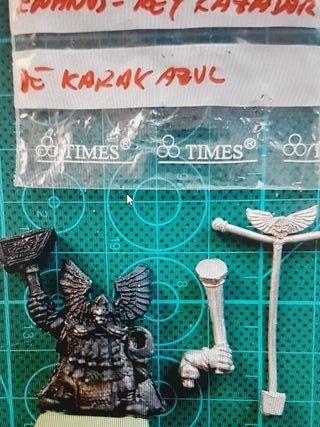 Warhammer Enanos Rey Kazador