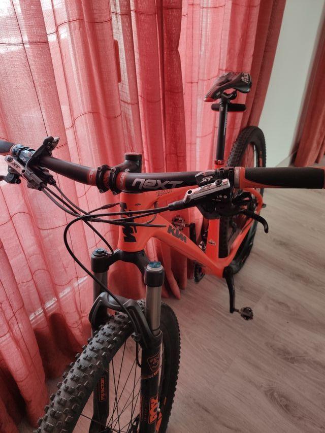 Bicicleta ktm btt