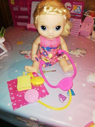 Muñeca Baby Alive Cuidados y Mimos