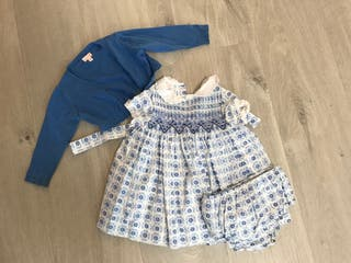 Conjunto Gocco bebé niña 6-9 meses