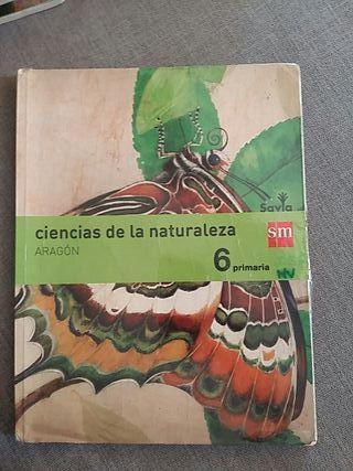 Libro de ciencias de la naturaleza de 6°Primaria