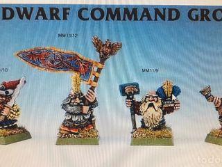Warhammer Enanos grupo de mando