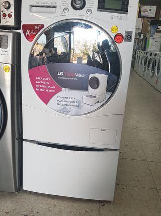 lavadora LG de 12 kilos