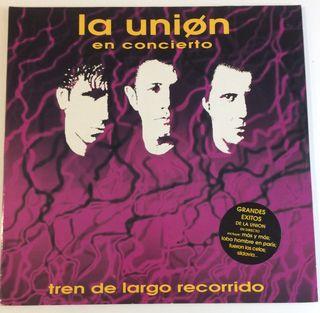 LA UNIÓN En concierto 2 Discos Vinilos 2 Lp