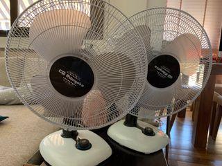 Par de ventiladores