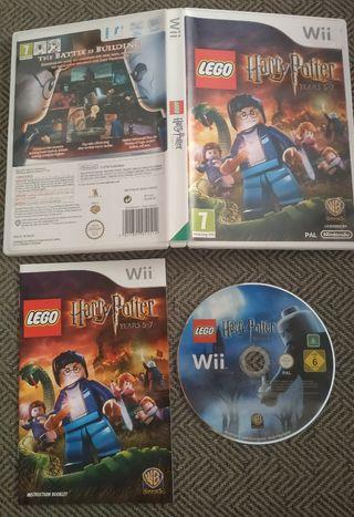 LEGO HARRY POTTER AÑOS 5 A 7 - WII