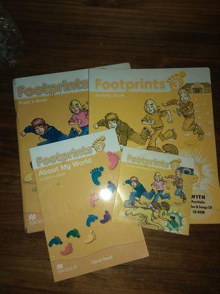 Pack 2 libros+CD+Cuadernillo Footprints 3