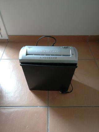 Trituradora de paper