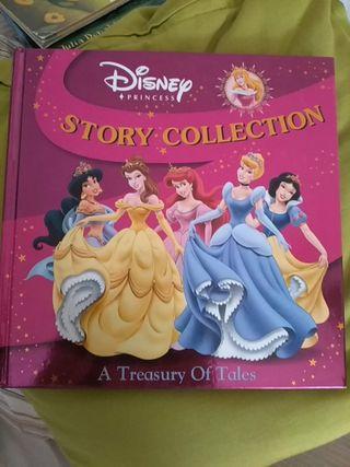 Libro princesas Disney en inglés