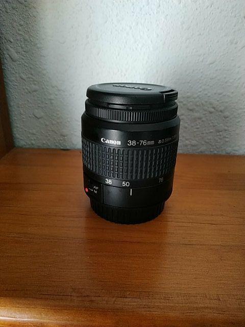 Canon EF 38-76 mm Objetivo