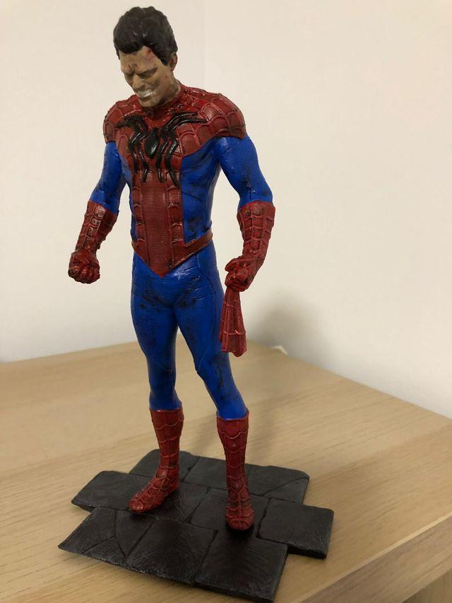 figura de spiderman