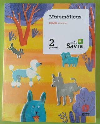 Matemáticas 2 Primaria Más Savia SM