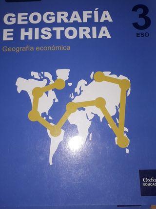 libros de OXFORD geografía e historia 3 de la eso