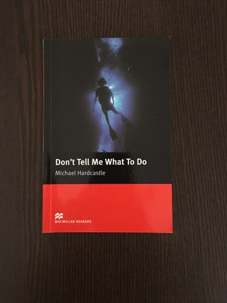 Libro en inglés Don't Tell Me What To Do