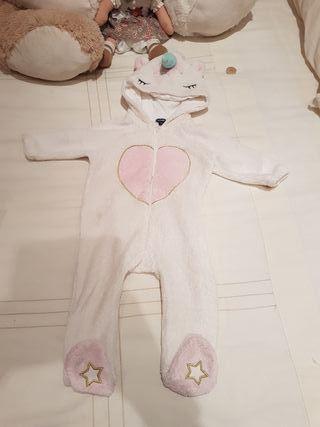 pijama unicornio 9/12 meses