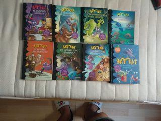 Lote 8 Libros BATPAT