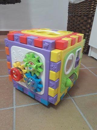 Cubo Actividades 6 en 1