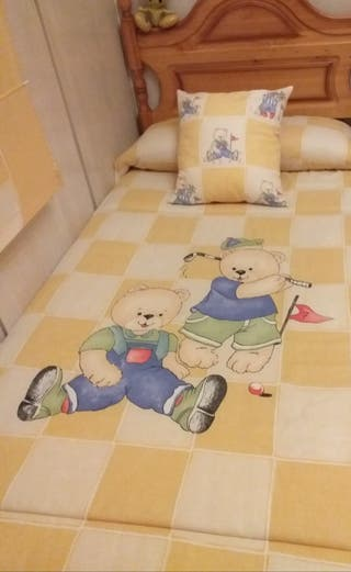 Dormitorio de niños.