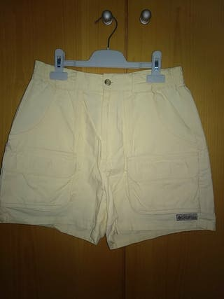 Pantalón corto COLUMBIA talla 38 chica