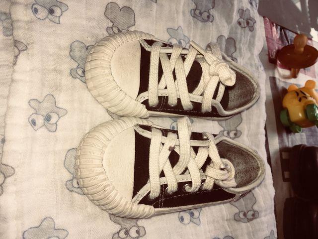 Zapatillas de piel zara