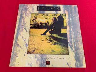STING TEN SUMMONER'S TALES Disco vinilo LP 1993 +