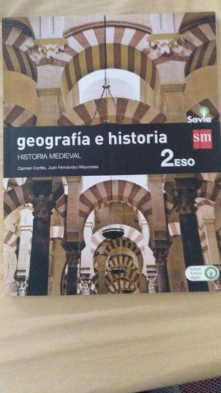 libros Geografia e historia 2 ESO San pedro