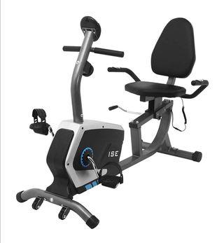 bicicleta estática reclinable nueva