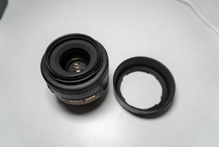 Objetivo Nikon35 mm