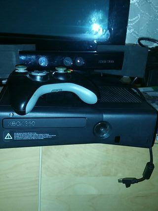 Xbox 360+kinect nuevo+3 juegos