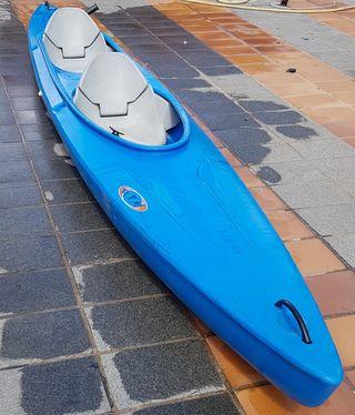 piragua doble, canoa, kayak