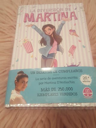 libro de la diversion de Martina