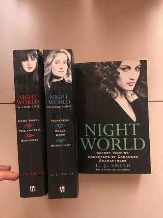 Saga libros juveniles inglés - Night World