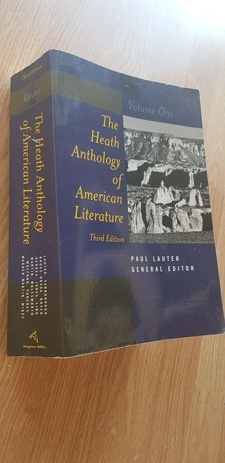 Libro Literatura Norteamericana