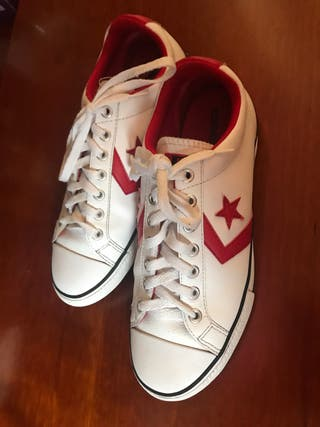 Zapatillas converse número 38.5