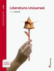Libro de texto 1º BUP.Literatura Universal