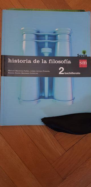 libro historia de la filosofía 2 bach