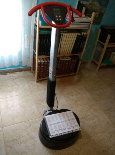 PLATAFORMA VIBRATORIA TENTABLE POR BICI