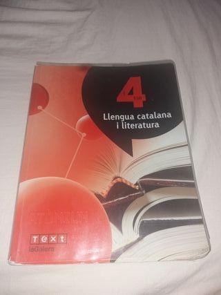 Llengua catalana i Literatura 4rt ESO